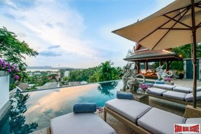 Luxury Hilltop Paradise 4 bedroom Pool Villa in Surin Hills