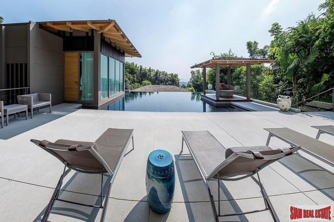 Luxury Modern Pool Villa with Sea Views in Layan, Phuket