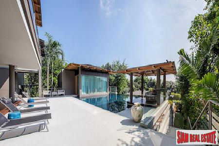 Tropical Jungle and Sea Views from this 4-bedroom Sea View Villa in Layan, Phuket