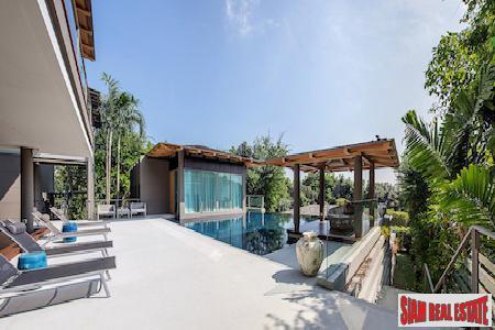Tropical Jungle and Sea Views from this 4-bedroom Sea View Villa in Layan, Phuket, Layan, Phuket