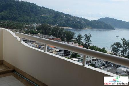 Spectacular Sea Views of Patong Bay from this Two Bedroom Apartment for Rent, Patong, Phuket