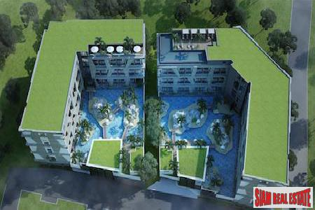 Unique Loft-Style Development with Water Park in Nai Harn, Phuket