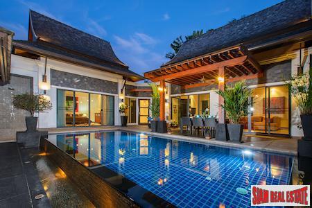 Luxury Private Pool Villa in 5 Villa Estate Located in Layan, Phuket, Layan, Phuket