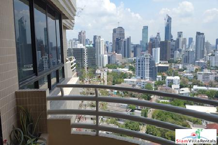 Ruamsuk Condos | Extra large 350 SQM Condo with Fabulous Views for Rent at Sukhumvit 26