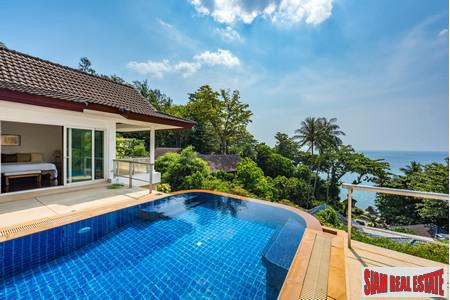 Unique One of a Kind Sea View Pool Villa in Kata Beach, Phuket