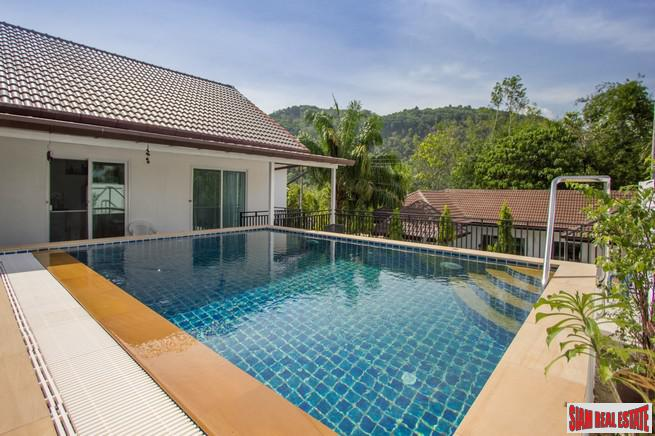 Beautiful 2 bedroom, 2 bath House For Sale in a Private Area of Chalong, Phuket
