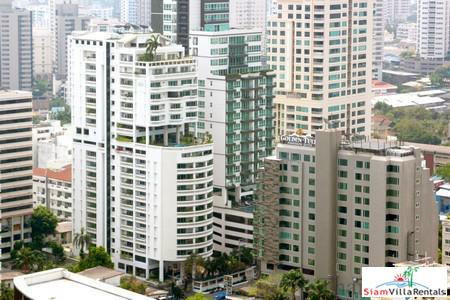 Spacious 3 bed Condo with Big Balconies for Rent at Sukhumvit 20