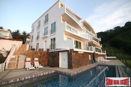 Outstanding Sea Views from the Kata Hill Condominium, Kata, Phuket