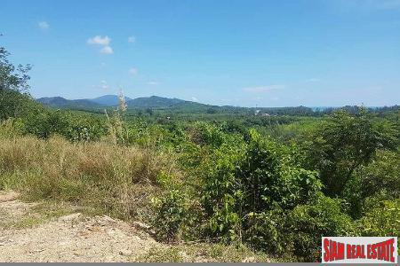 Land with Sea Views from the Top of the Property for Sale at Long Beach, Koh Lanta