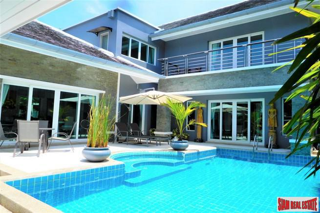 Three Bedroom Two Storey Home for Rent in Rawai, Phuket