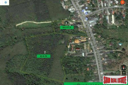 Land for Sale in Excellent Location Near the Phuket International Airport