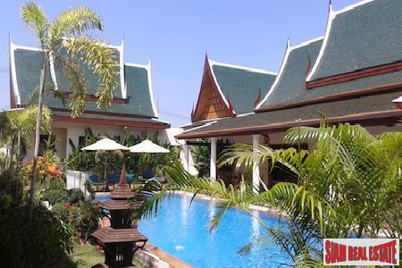 Large and Spacious Thai Style Pool Villa Near Laguna, Phuket