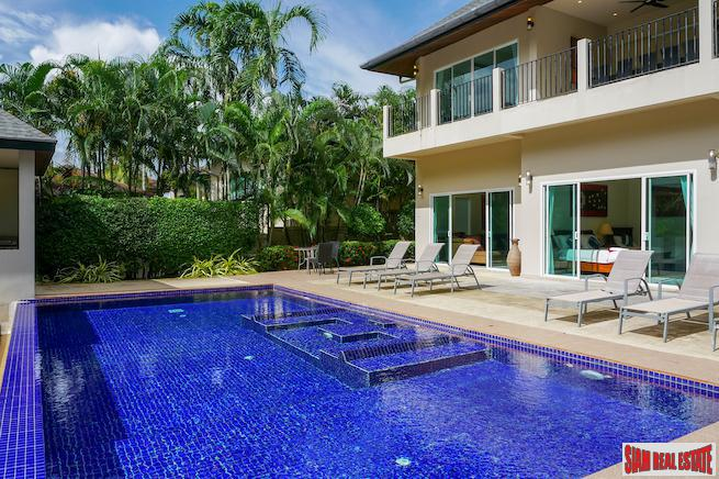 Executive Pool Villa- Gold Villa - 7 Bedrooms & 7 Baths in Rawai Near Nai Harn Beach