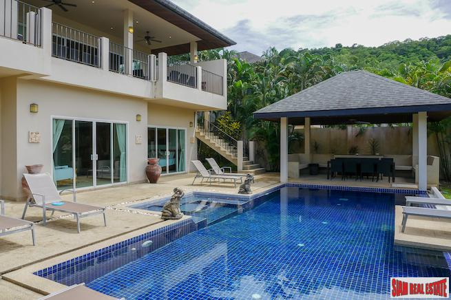 Luxurious Pool Villa- Amber Villa -  7 Bedrooms & 7 Baths in  Nai Harn, Phuket