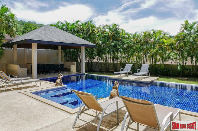 Magnificent Pool Villa- Jade Villa -  7 Bedrooms & 7 Baths in  Nai Harn, Phuket