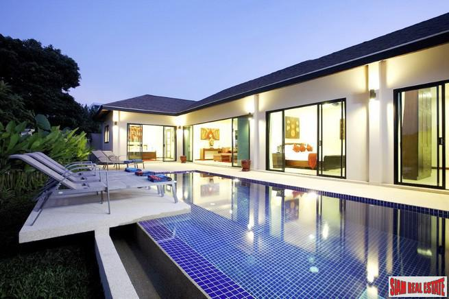 Modern Pool Villa - Ruby Villa -  3 Bedrooms & 2 Baths in  Nai Harn, Phuket