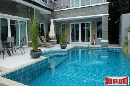 New Contemporary Three Bedroom Pool Villa in Rawai, Phuket