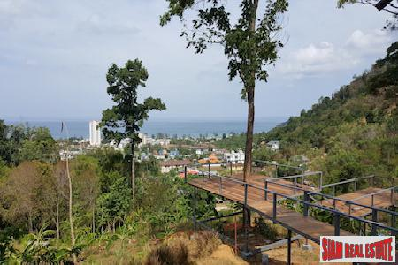 Large and Ocean View Land Plot in Karon Beach,  Phuket