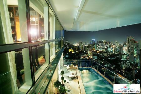 Gorgeous Three Bedroom Duplex with Private Pool Near Phrom Phong, Bangkok