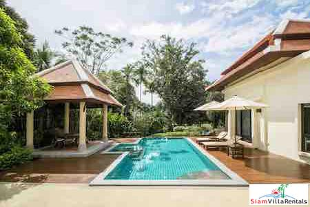 Secluded &  Contemporary Thai Private Pool Villa by the Lake in Nai Harn, Phuket