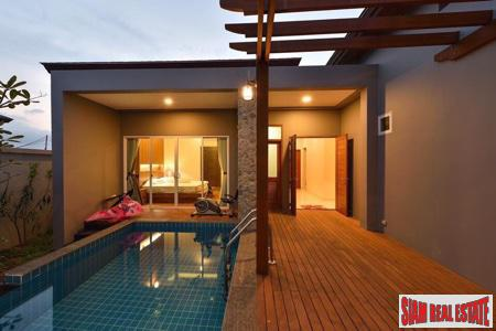 New 4-Bedroom Pool Villa For Rent in a Private Area of Thalang, Phuket