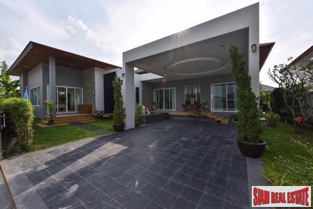 Private & Modern 3-Bedroom Villa For Rent in Thalang, Phuket