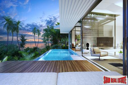 Cutting-edge Luxury Seaview Villas For Sale in Bophut, Koh Samui