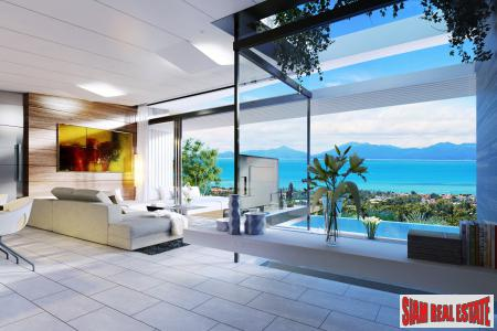 Cutting-edge Luxury Seaview Villas For 3