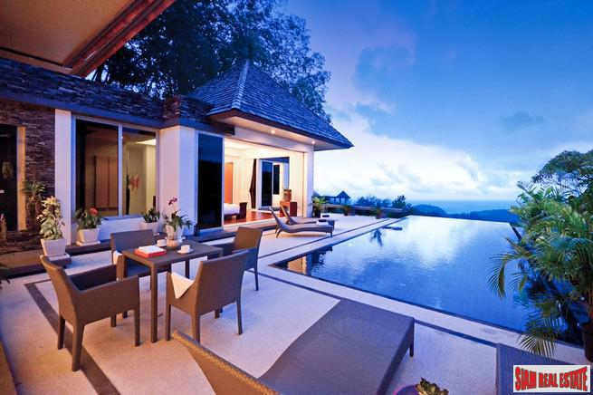Modern Sea View Pool Villa Overlooking Layan Beach