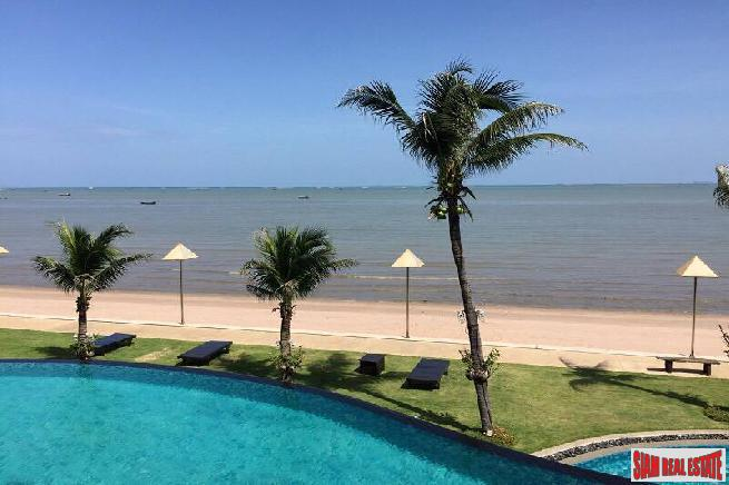 Absolute Beachfront Luxurious Condo For Long Term Rent -Fully Furnished 2 BRs  Pattaya