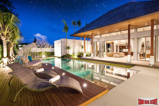 Large and Relaxing Balinese Style Pool Villa in Layan, Phuket, Layan, Phuket