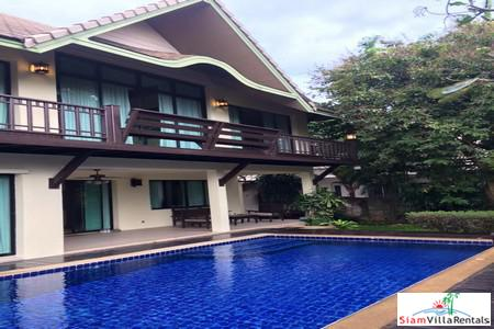 4 Beds House with Private Pool at The Center of Pattaya For Long Term Rent