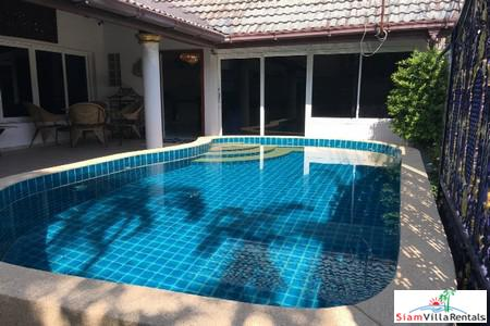Luxury but Affordable 4 Bedrooms Pool Villa for Rent in Jomtien Pattaya
