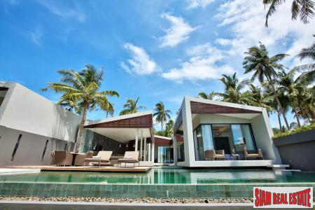 3 & 5 Bed Beach Front Villas by Award Winning Developer at Bang Po, Samui