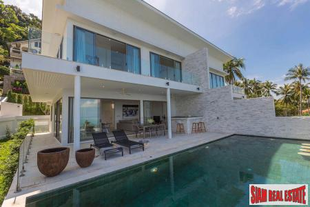 3 Bed Ocean View Duplex Villa at Bang Po, Samui