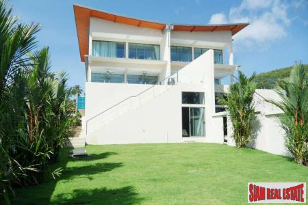 4 Bed Ocean View Duplex Villa at Bophut, Samui