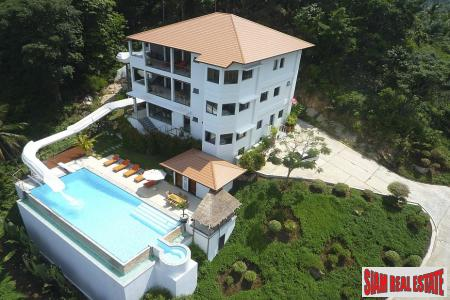 6 Bed Luxury Sea View Holiday Villa at Maenam, Samui