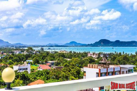 Amazing Three Bedroom Penthouse Apartment with Sea, Mountain and City Views in Nai Harn