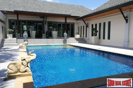 Rich and Luxurious Four Bedroom Bali Style Home in Rawai, Phuket