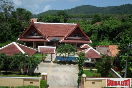 Large Modern 5 Bed Thai Style Residence Compound with Two Separate Villas in Rawai, Rawai, Phuket