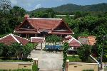 Large Modern 5 Bed Thai Style Residence Compound with Two Separate Villas in Rawai