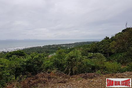 Stunning Sea View Koh Lanta Building Plot