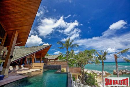 5 Bed Beach Villa Near Hinta Hinyai, Samui