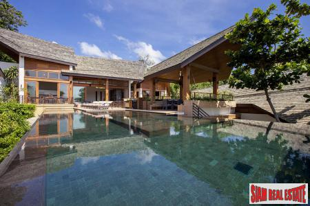 5 Bed Luxury Beach Villa Lamai, Samui