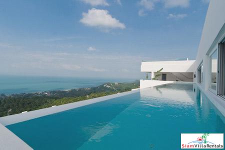 Ocean Views from this Three Bedroom Penthouse with Pool in Bang Po, Koh Samui
