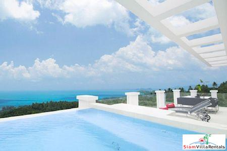Three Bedroom Suite with Pool and Fantastic Sea Views in Bang Po, Koh Samui