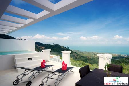 Sea Views from this Two Bedroom Pool Suite in Bang Po, Koh Samui