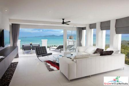 Unbelievable Sea Views from this Two Bedroom Penthouse with Pool in Bang Po, Koh Samui