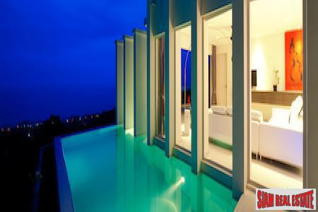 Corner Garden 2-Bedroom Penthouse with Sea Views in Bang Po, Koh Samui