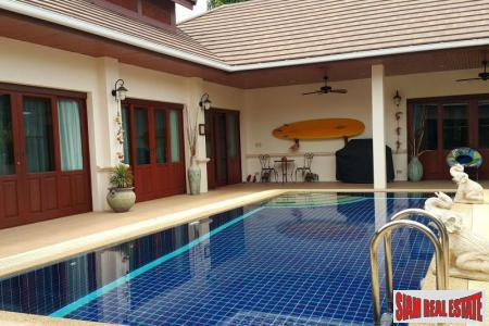 Four Bedrooms, Three Bathrooms House for Sale in Hillside Hamlet 3, Hua Hin West